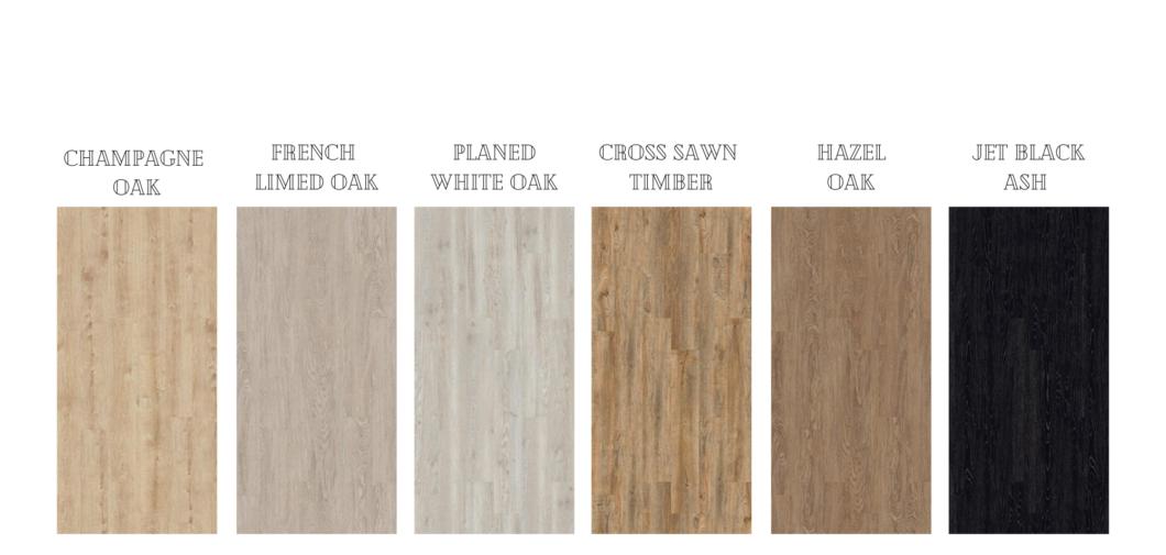 colour range low voc luxury vinyl planks flooring